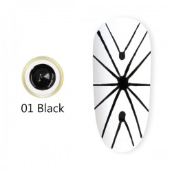 Spider Gel 8 ml – 01 Black