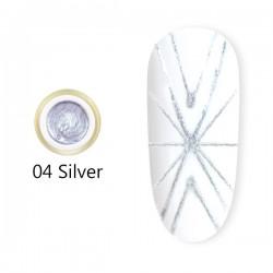 Spider Gel 8 ml – 04 Silver
