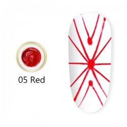 Spider Gel 8 ml – 05 Red