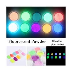 set 10 pigmenti neon